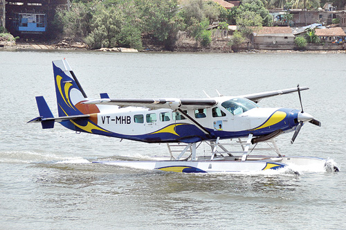 Sea Plane in Goa