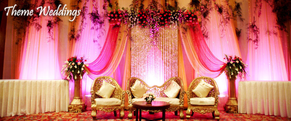 Theme weddings in goa add style to your big day for Background decoration for indian wedding