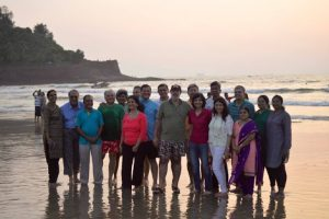 Reunion of friends in Goa