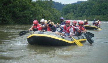 River rafting goa