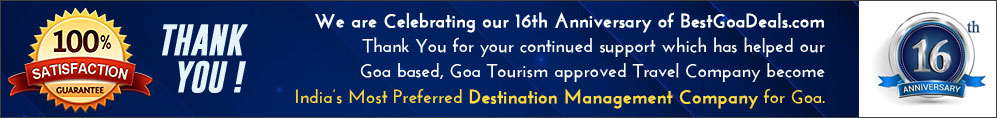 15 Years Experienced Travel Agent in Goa, Best Travel Company in Goa, Best DMC for Goa