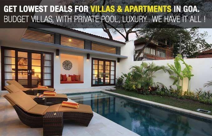 Villas Rentals in Goa - Best Deals on Budget Villas & Luxury Villas in Goa