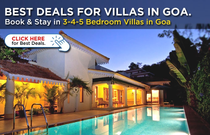 BOOK HOLIDAYS IN VILLAS IN GOA - Best Deals on Budget Villas & Luxury Villas in Goa
