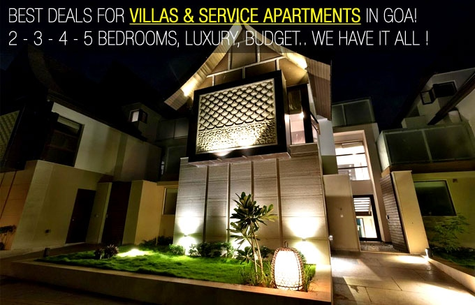 Villas Rentals in Goa - Best Deals on Budget Villas & Luxury Villas in Goa