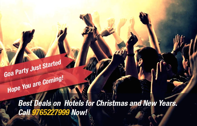 Few Rooms Available in Standard and Budget Hotels in Goa