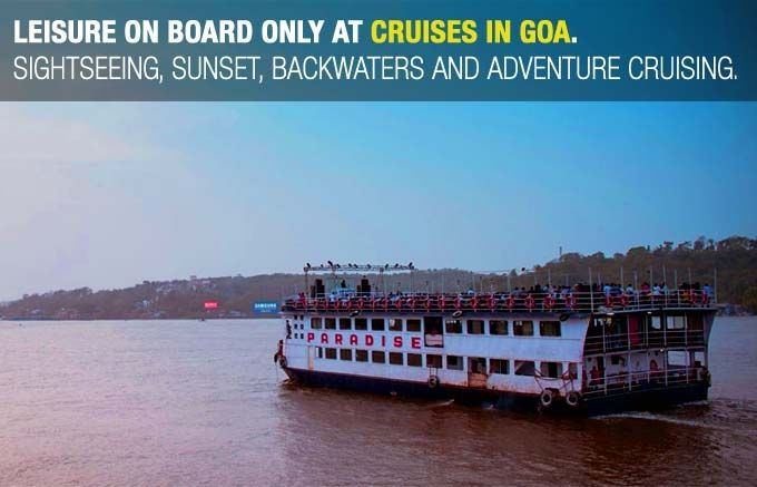 Goa Backwater Cruises, Leisure Cruises filled with loads of fun and dancing