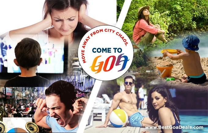 Stress-free Holidays to Goa. You deserve a break !
