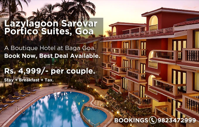 Goa Holiday Offer : Best Deal for Lazylagoon Sarovar Portico Suites Goa : Book Now
