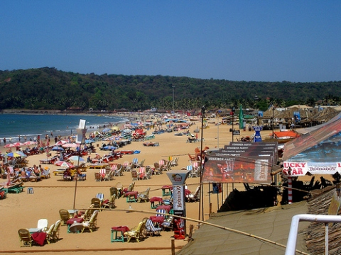 Best Beaches In Goa. Calangute Beach Goa